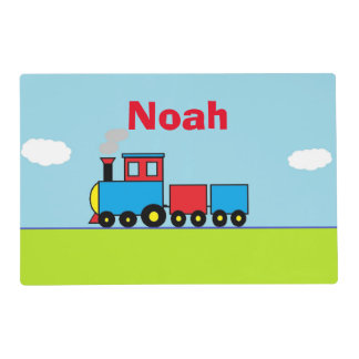 Personalized Train Placemat