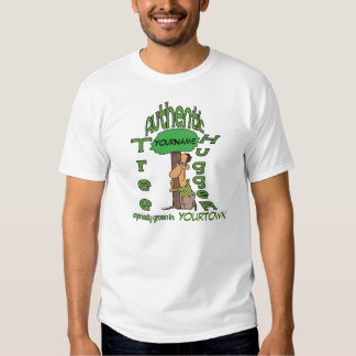 Personalized Tree Hugger Shirt