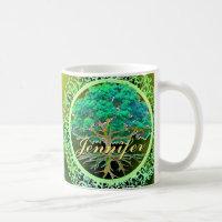 Personalized Tree of Life Mug