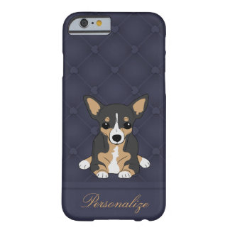 Personalized Tri-Color Chihuahua Barely There iPhone 6 Case