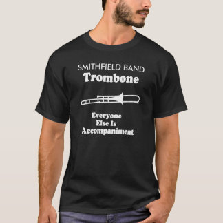 Personalized Trombone Section Marching Band T-shir T-Shirt