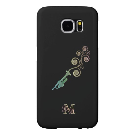 Personalized Trumpet Music Samsung S6 Case