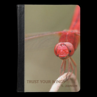 Personalized Trust Your Wings Dragonfly Case