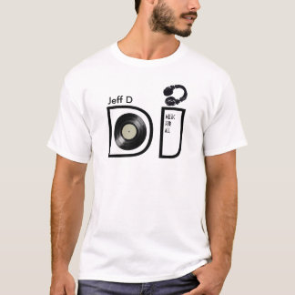 personalized tshirt for the DJ