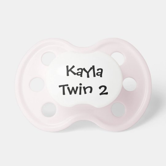 Personalized Twin Pacifier