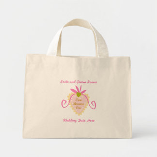 Personalized Two Became One Tote Bag