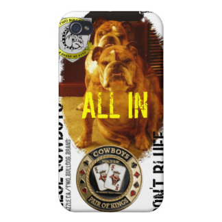 Personalized Two Bulldog Brand iPhone4 Case iPhone 4/4S Case