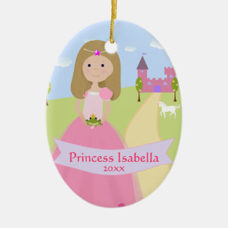 Personalized Two Sided Princess Ornament
