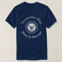 Personalized U.S. Navy Emblem T-Shirt