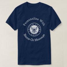Personalized U.S. Navy Emblem T-Shirt
