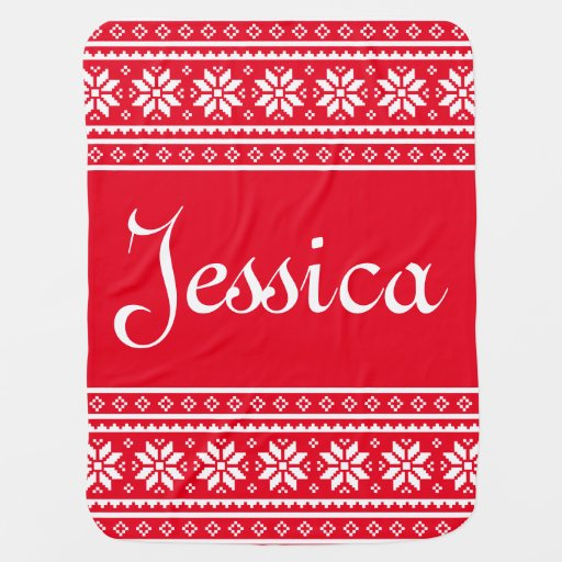 Personalized Ugly Christmas Sweater baby