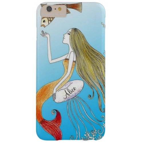 Personalized under the sea beautiful mermaid Phone Case