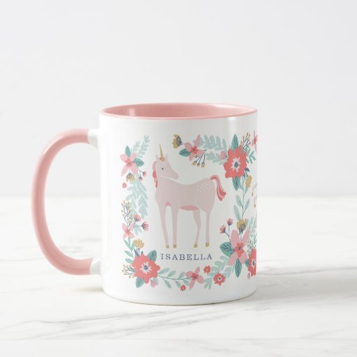 Personalized Unicorn Fields Mug