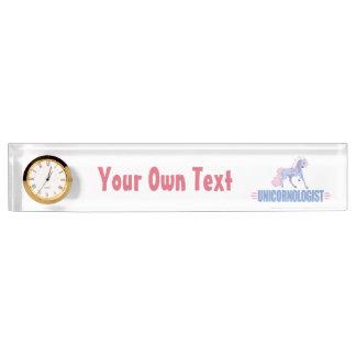 Personalized Unicorn Name Plate