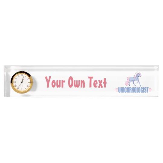 Personalized Unicorn Name Plate Zazzle Com