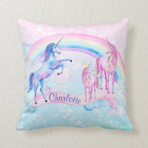 Personalized Unicorn Pillow