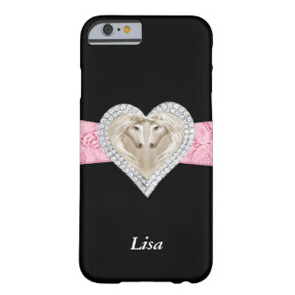 Personalized Unicorn Pink Lace iPhone 6 Case