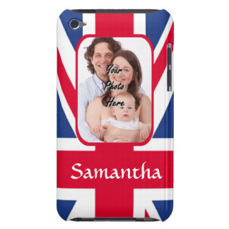 Personalized union jack iPod Case-Mate case