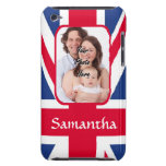 Personalized union jack iPod Case-Mate cases