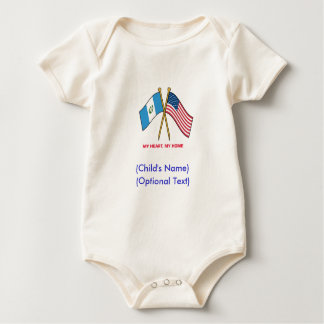 Personalized US Guatemala Child's Shirt