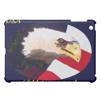 Personalized USA Eagle iPad Case
