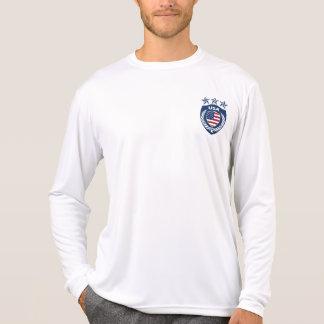 Personalized USA Jersey Micro-Fiber Long Sleeve Tshirts