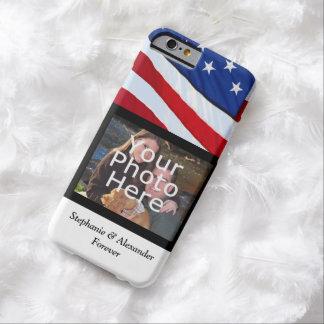 Personalized USA Patriotic Flag Photo Case