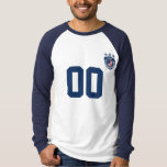 Personalized USA Sport Jersey Long Sleeve Raglan T-Shirt