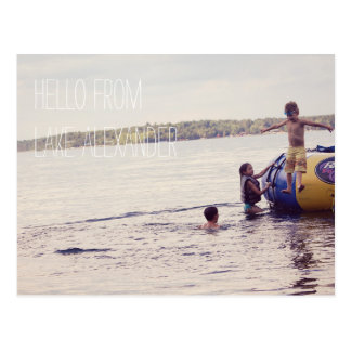 Personalized Vacation Photo Postcards