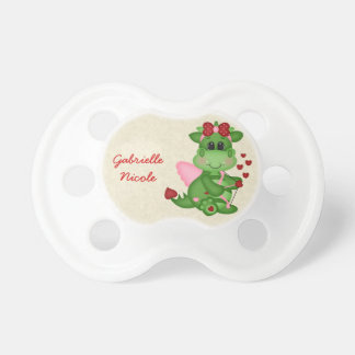 Personalized Valentine Dragon Custom Pacifier
