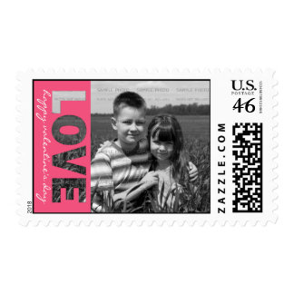 Personalized Valentine s Day Photo Stamps LOVE