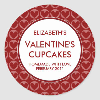 Personalized Valentine's Canning / Baking Stickers