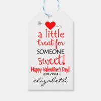 Personalized Valentine's Day Friend Gift Tags