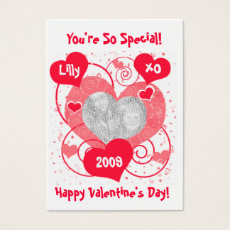 Personalized Valentine's Day Greeting Card