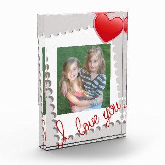 Personalized Valentine's Day Photo Award