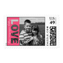 Personalized Valentine's Day Photo Stamps   LOVE