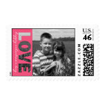 Personalized Valentine's Day Photo Stamps | LOVE