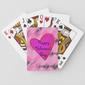 Personalized Valentine's Day Playing Cards