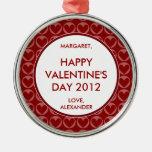 Personalized Valentine's Ornament