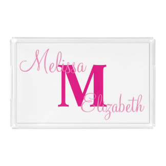 Personalized Vanity Tray
