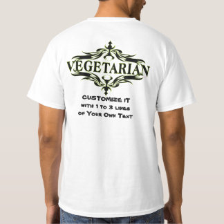 Personalized Vegetarian T-Shirt