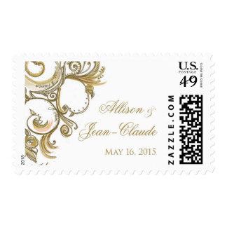 Personalized Versailles Swirl Stamp