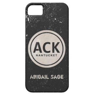 Personalized Vintage ACK Nantucket iPhone 5 Case