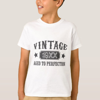 Personalized Vintage Aged to Perfection Custom T-Shirt