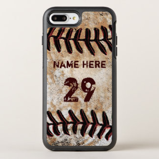 Personalized Vintage Baseball iPhone Cases