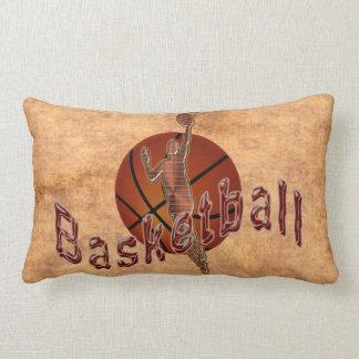 PERSONALIZED Vintage Basketball Pillow Lumbar