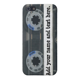 Personalized vintage Cassette Tape iPhone4/4s skin Cases For iPhone 5