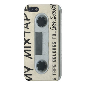 Personalized vintage Cassette Tape iPhone4/4s skin iPhone 5/5S Cases