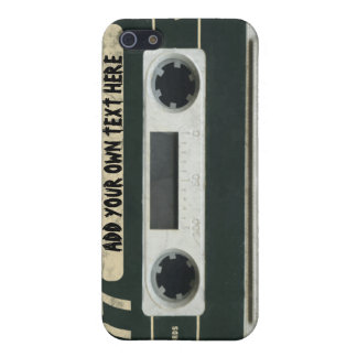 Personalized vintage Cassette Tape iPhone4/4s skin iPhone 5 Cover