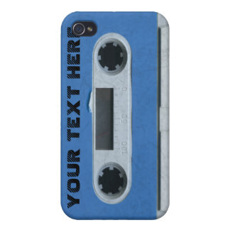 Personalized vintage Cassette Tape iPhone4 4s skin iPhone 4 Covers